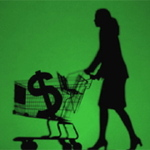 Womanshoppingcart